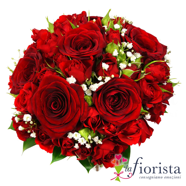 Ben noto Vendita Bouquet di Rose Rosse. Consegna fiori a domicilio gratis MD52