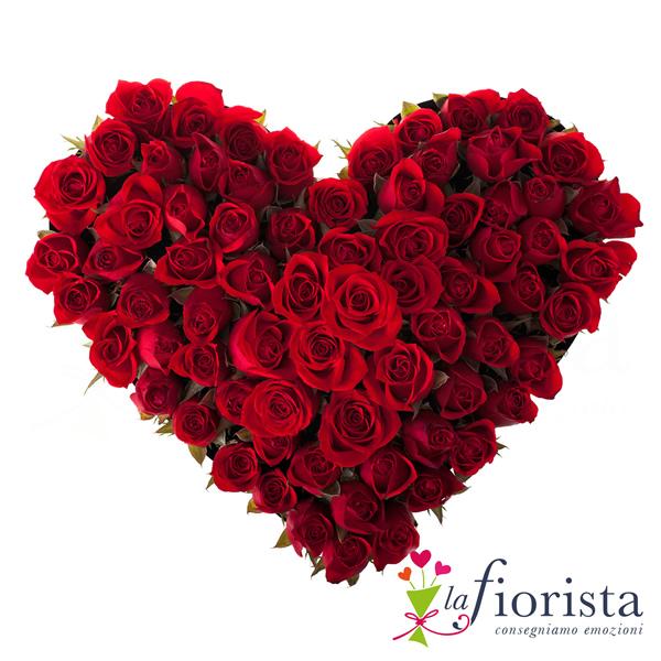 Souvent Vendita Cuore Funebre di Rose Rosse. Consegna fiori a domicilio gratis PV31