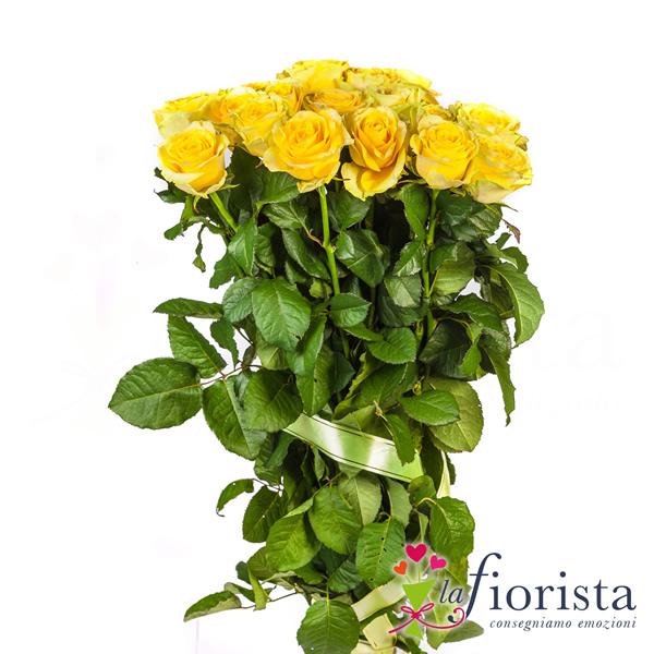 Mazzo Di Rose Gialle Festa Della Donna Consegna Gratis