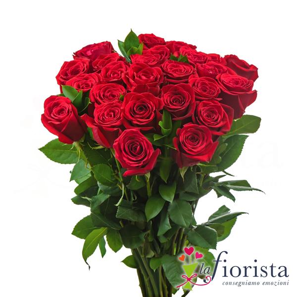 spesso Vendita Mazzo di Rose Rosse. Consegna fiori a domicilio gratis WJ02