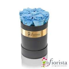 Flower box 7 Rose Azzurre
