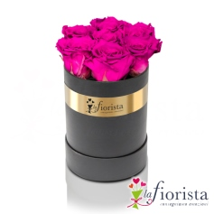 Flower box 7 Rose Fucsia