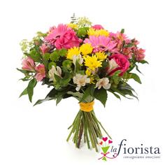 Bouquet colorato di fiori di campo